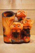 見猿聞か猿言わ猿 花瓶 【A】
