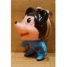 他の写真1: ミッキーマウス風 ソフビ 根付 【B】
