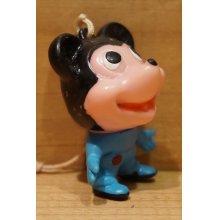 他の写真3: ミッキーマウス風 ソフビ 根付 【B】