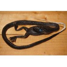 他の写真1: ゴム製 カエルを食べるヘビ 【A】
