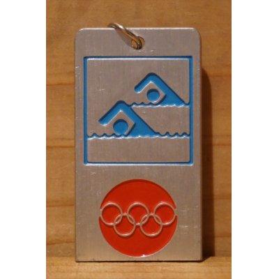画像1: オリンピック キーホルダー 【水泳】