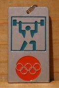 オリンピック キーホルダー 【ウェイトリフティング】
