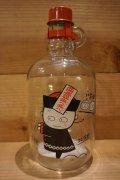 キョンシー ガラス瓶 貯金箱 【B】