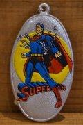 スーパーマン ネームプレート キーホルダー 【A】