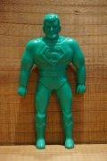 70s 無版権 スーパーマン ゴム人形 【B】