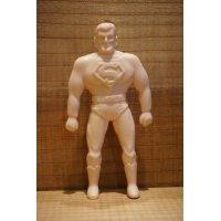 70s 無版権 スーパーマン ゴム人形 【C】