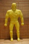 70s 無版権 スーパーマン ゴム人形 【F】