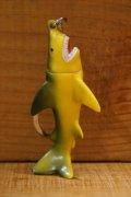 日本製 サメ ミニソフビ キーホルダー 【B1】