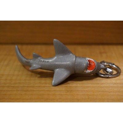 画像3: 日本製 サメ ミニソフビ キーホルダー 【A1】