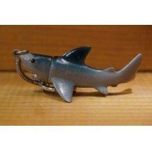 他の写真1: 日本製 サメ ミニソフビ キーホルダー 【A1】