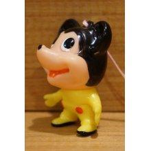 他の写真1: ミッキーマウス風 ソフビ 根付 【A1】