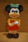 ミニーマウス ソフビ 鉛筆削り【B】