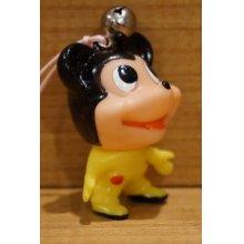 他の写真3: ミッキーマウス風 ソフビ 根付 【A1】