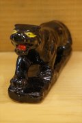 Japan Black Panther Ceramic