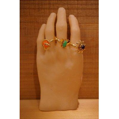 画像1: ソフビの手首【指輪付】