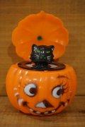 Pumpkin ビックリ箱 【黒猫】
