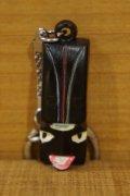 アフリカン マスク キーホルダー【C】