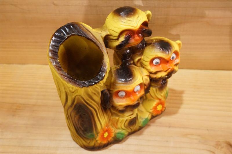 見猿聞か猿言わ猿 花瓶 【B】 - ...